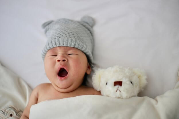 Baby Yawning | The Mustcard