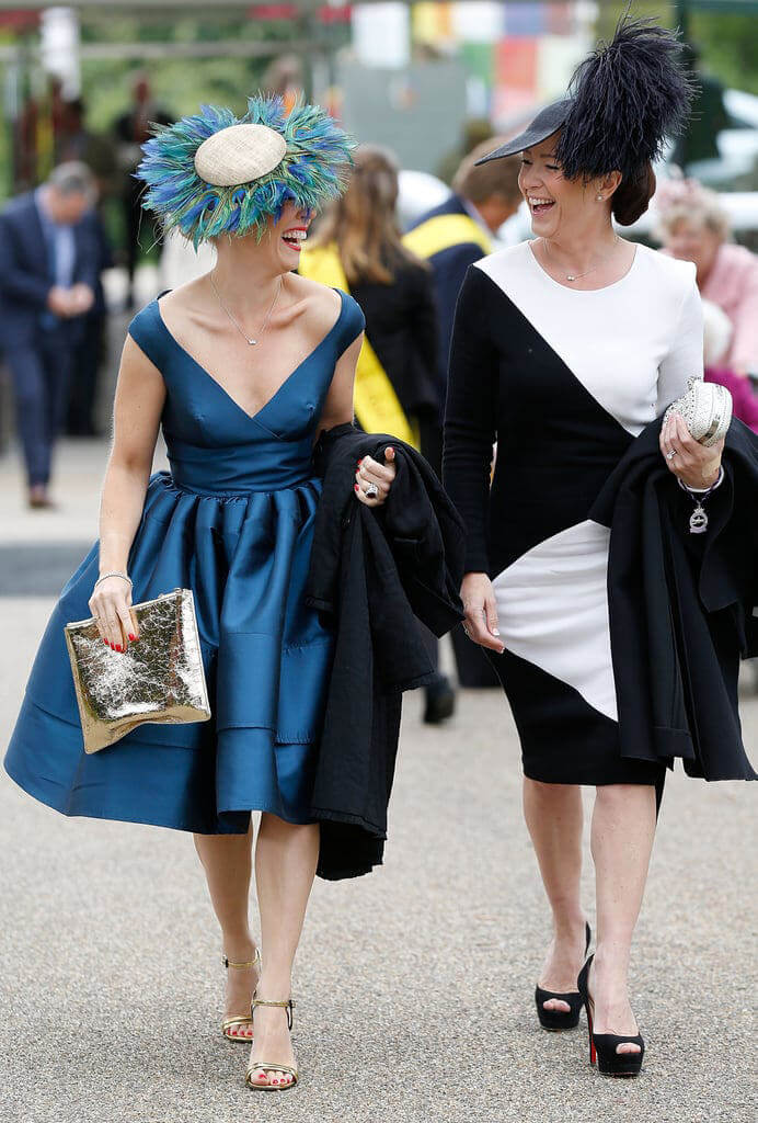 Woman at Ascot | The Mustcard