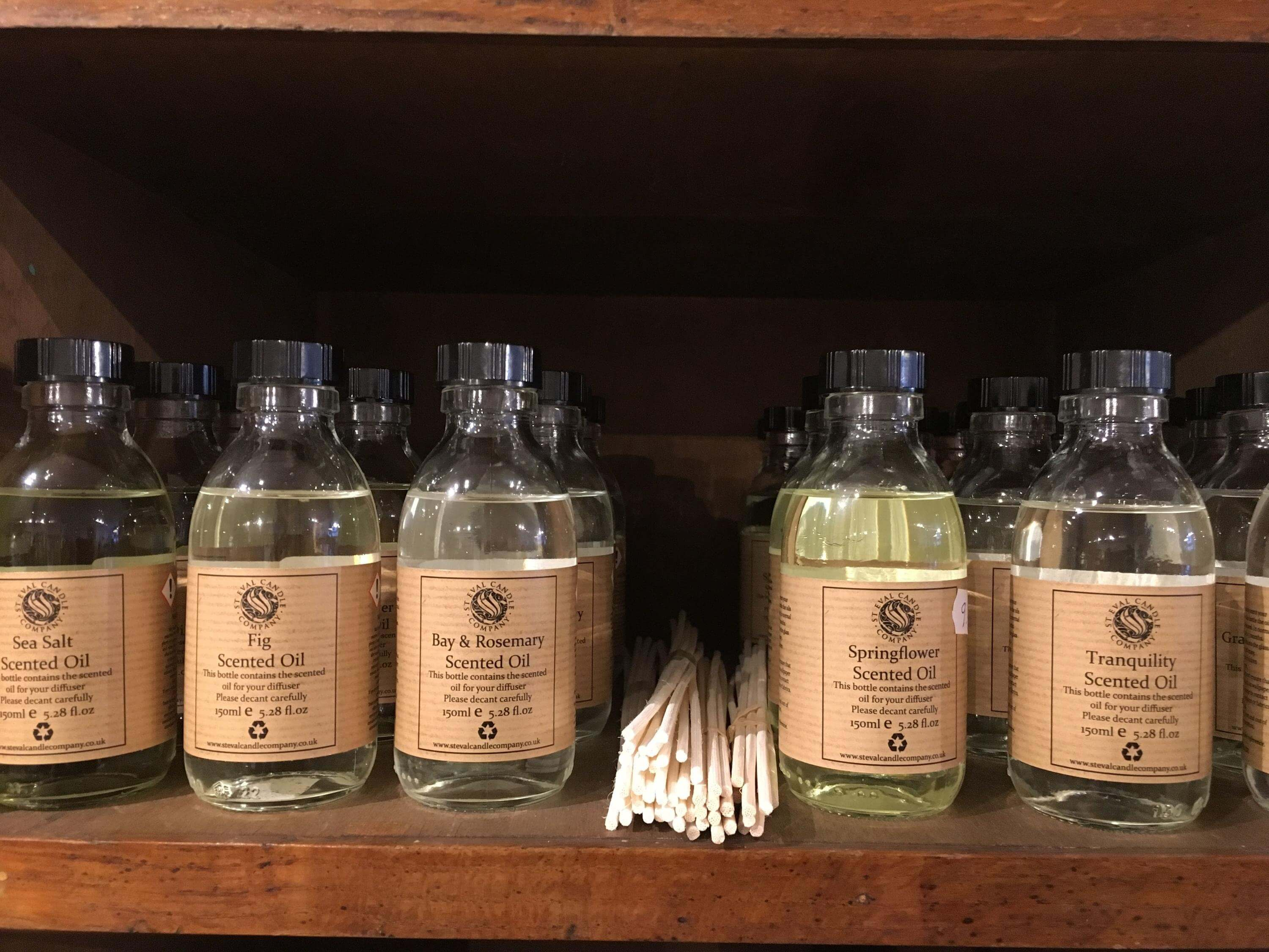 Scented Oils   The Mustcard