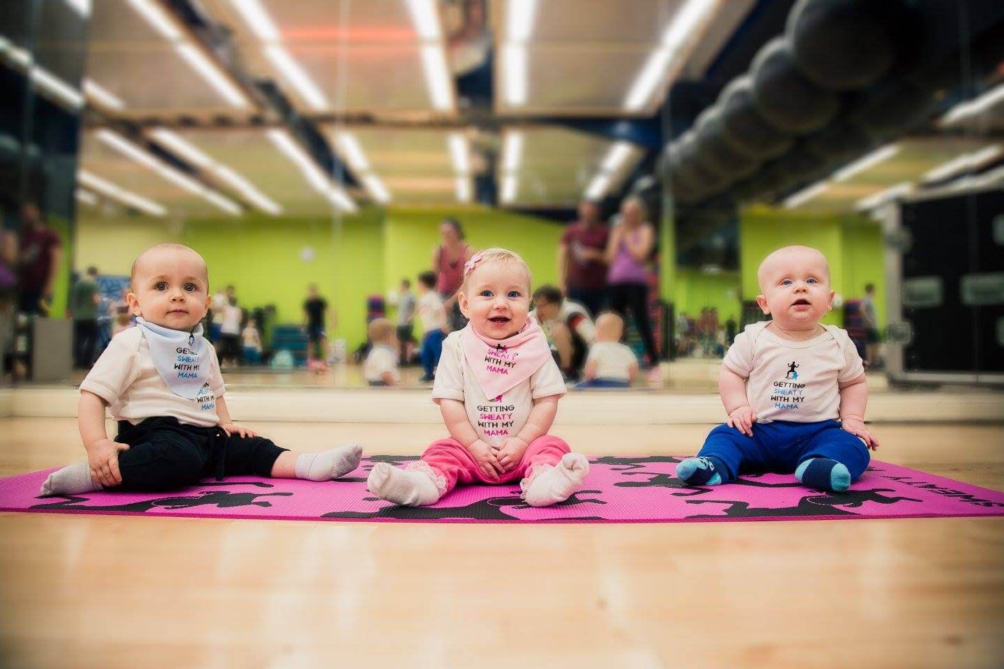 Babies on Yoga Mat | The Mustcard