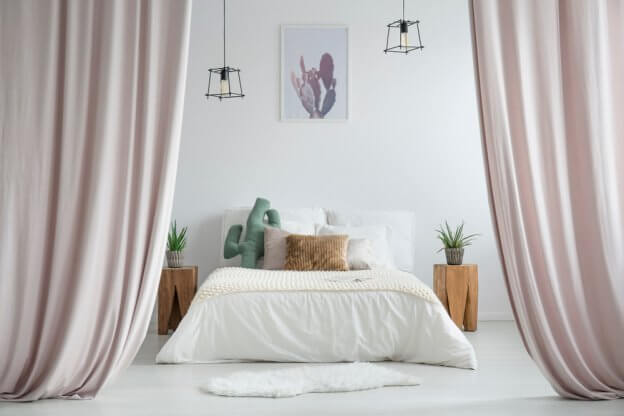 Bed with Curtain | The Mustcard