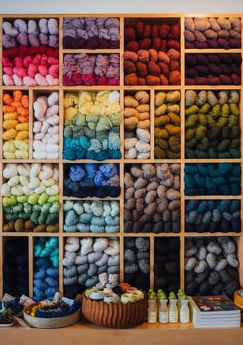 Selection of Knitting Wool | The Mustcard