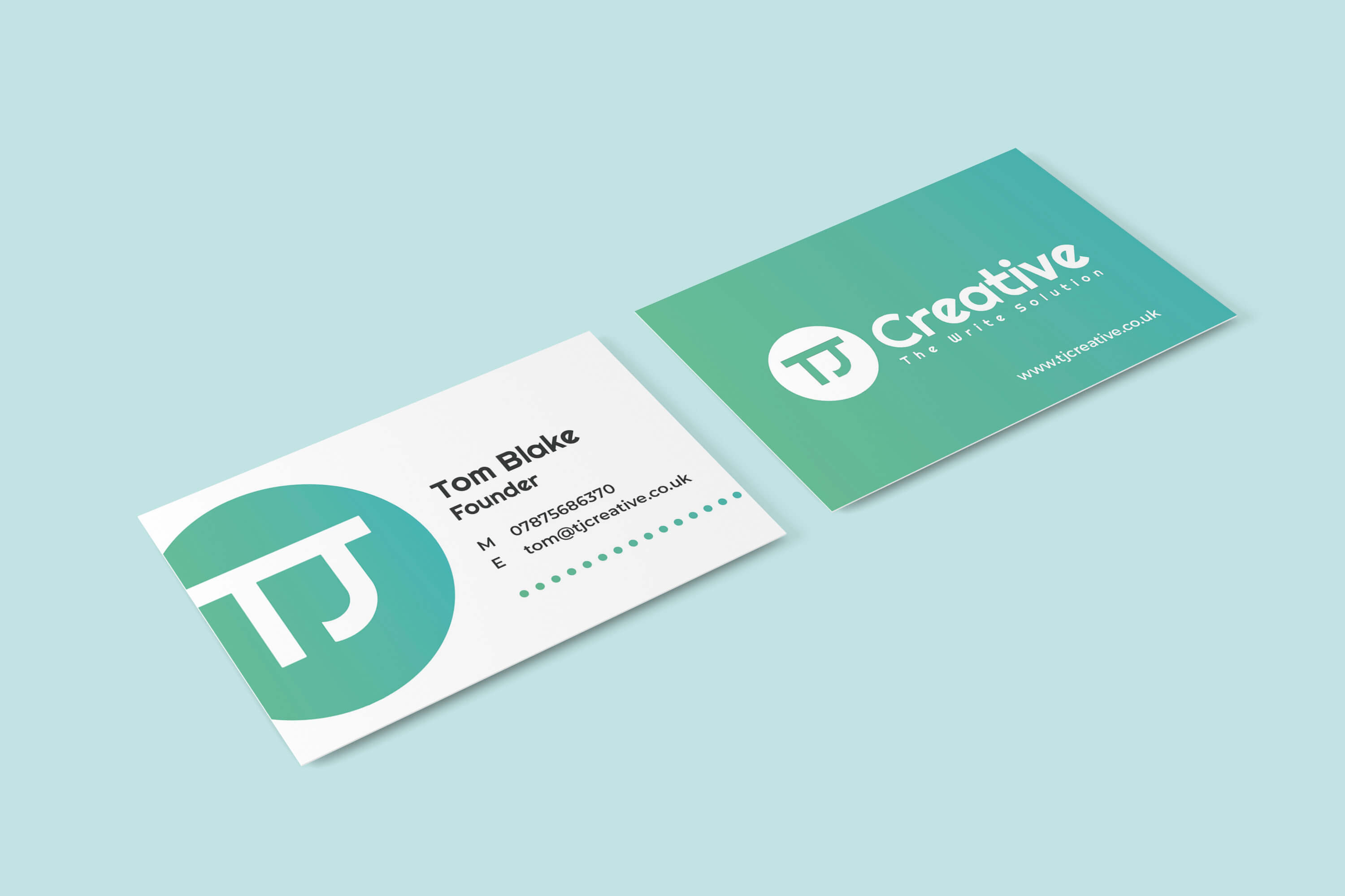 TJ Creative Business Cards | The Mustcard