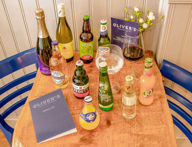 Selection of Beverages | The Mustcard