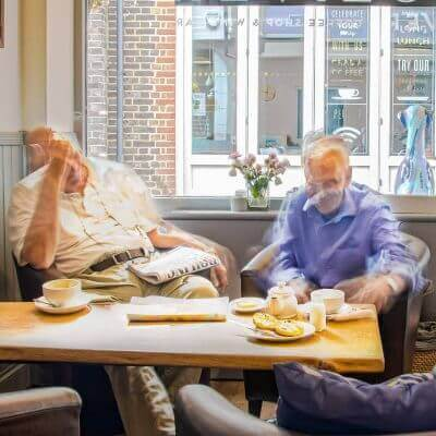 Elderly Dining Together | The Mustcard