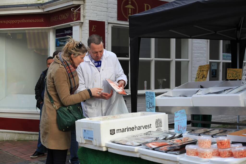 Godalming Fish Stall | The Mustcard