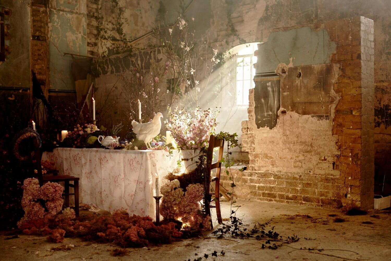 Flowers in Broken Building | The Mustcard