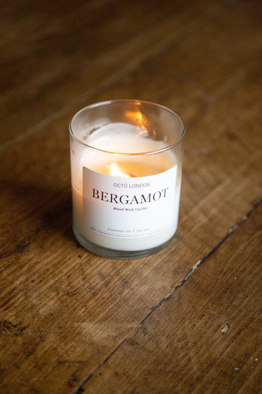 Bergamot Candle | The Mustcard