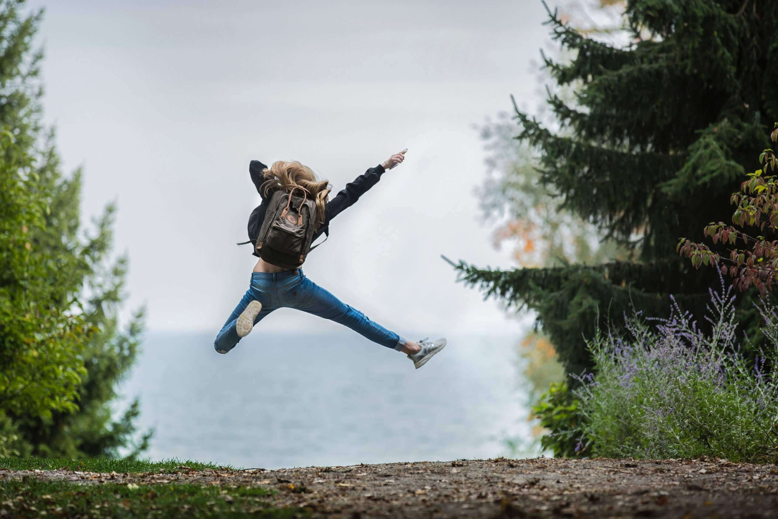 Jumping with Joy   The Mustcard