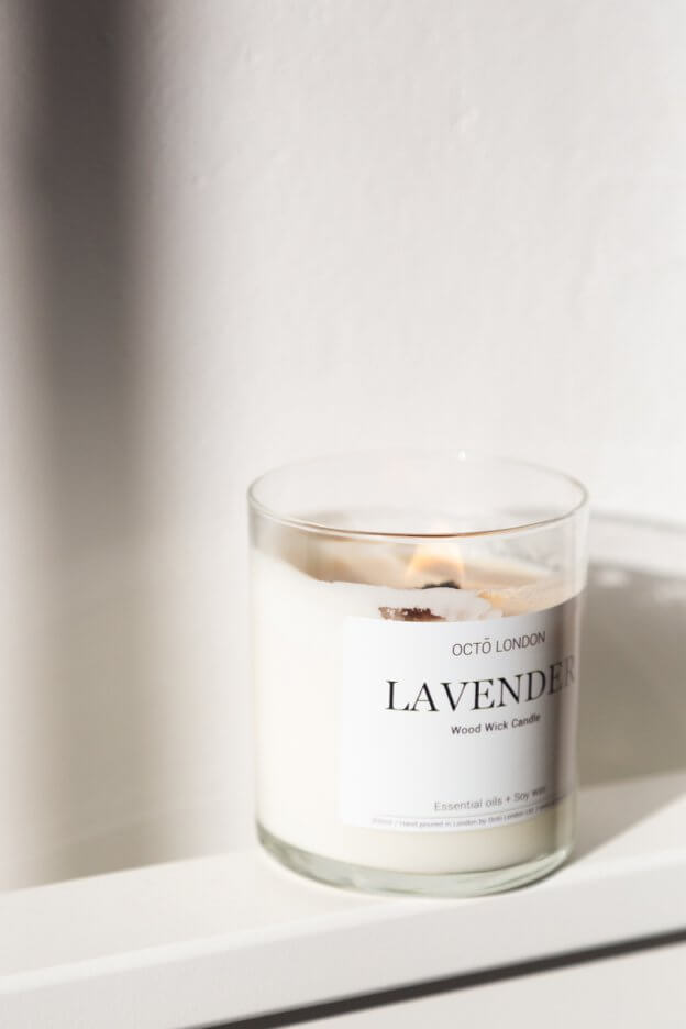Lavender Candle | The Mustcard
