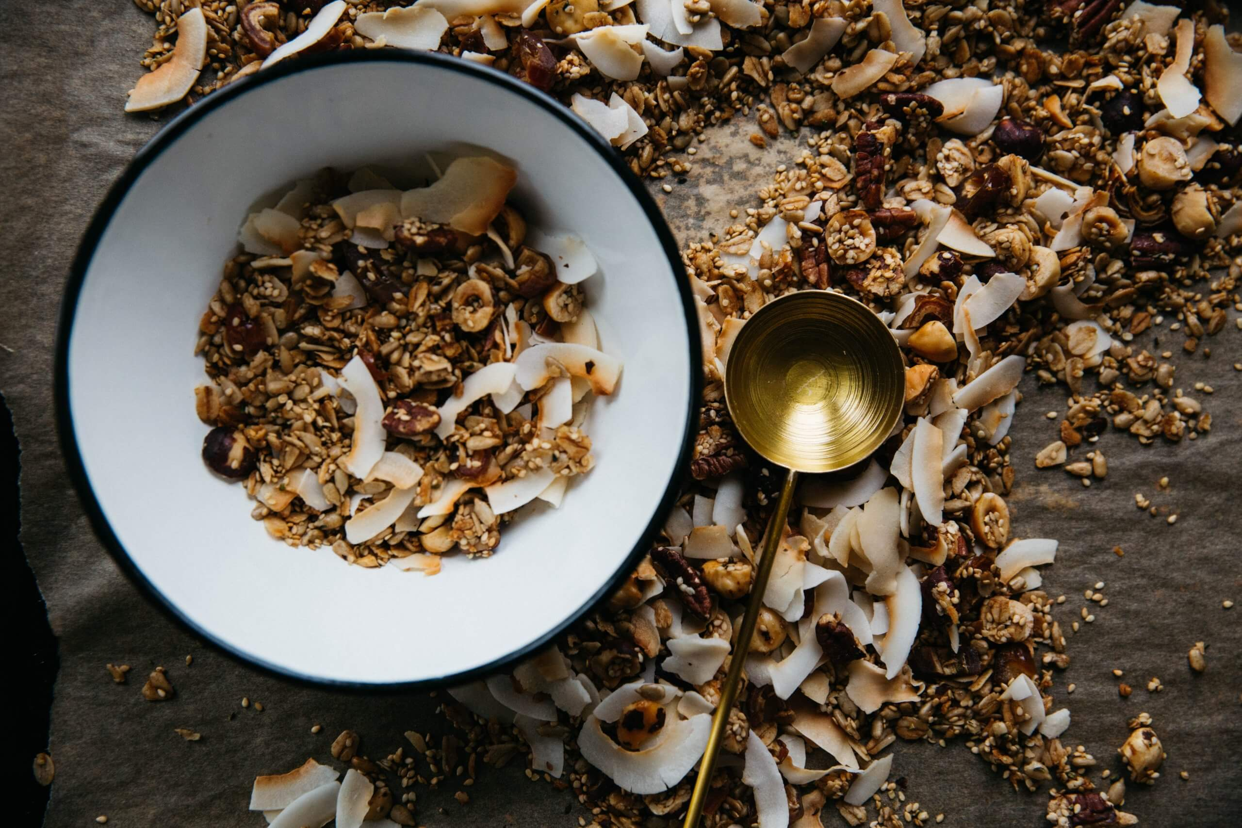 Coconut Granola | The Mustcard