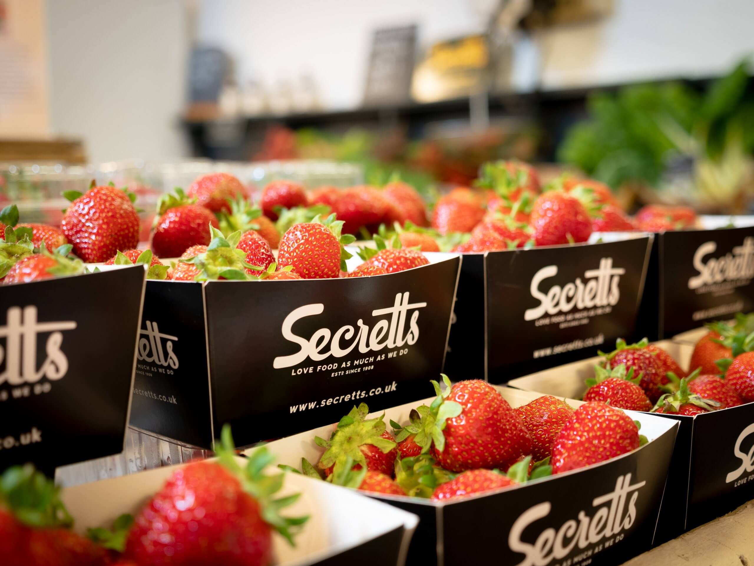 Secretts Strawberries   The Mustcard
